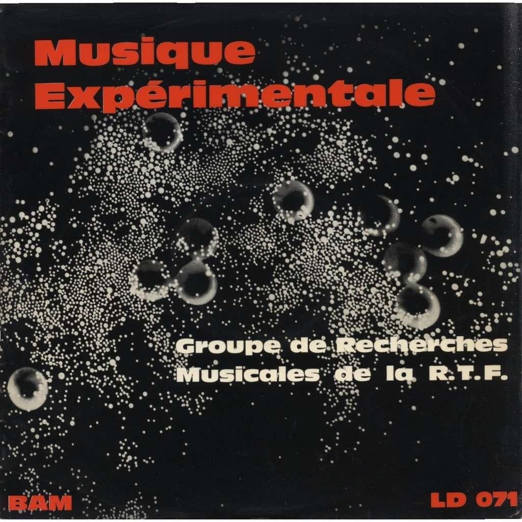 GROUPE DE RECHERCHES MUSICALES DE LA R.T.F. Musique Expérimentale Bernard Mache, Romuald Vandelle, Michel Philippot, Luc Ferrari, Boucourechliev