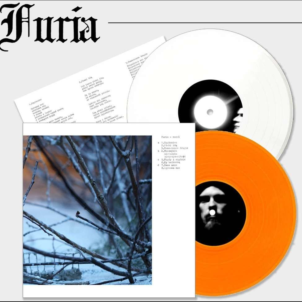 FURIA Nocel. White & Orange Vinyl