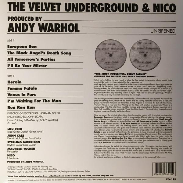 velvet underground unripened Green Vinyl