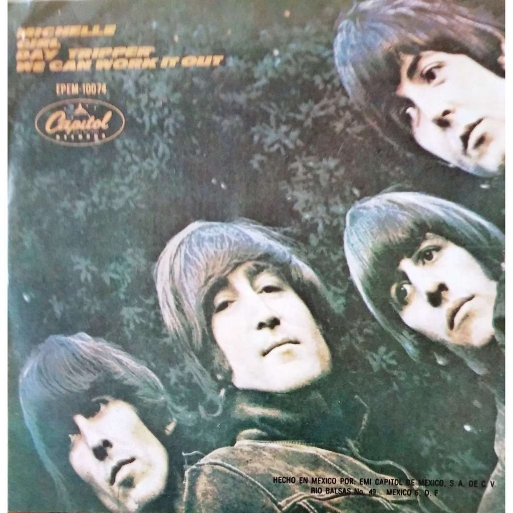 the beatles Michelle (45 EP IMPORT)