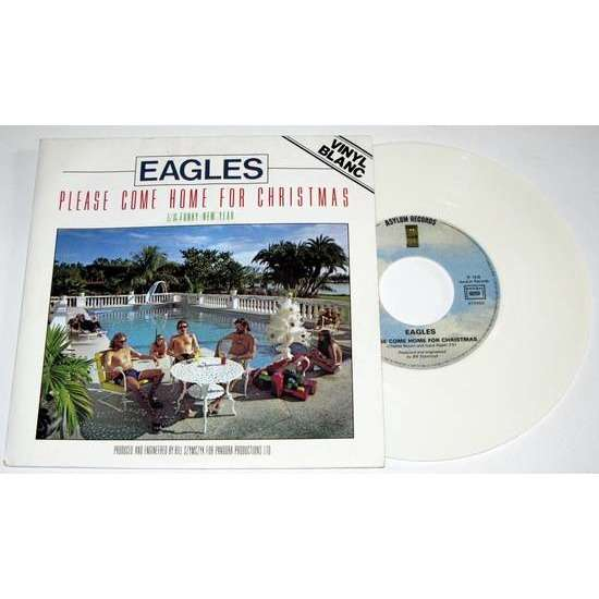 Please Come Home For Christmas Eagles.Eagles Please Come Home For Christmas White Vinyl