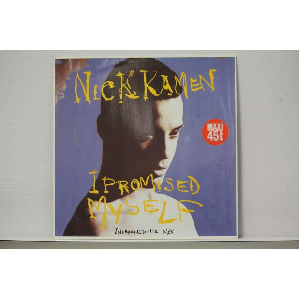 nick kamen (maxi) i Promised Myself