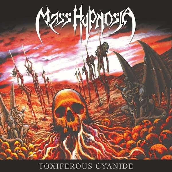 MASS HYPNOSIA Toxiferous Cyanide. Black Vinyl