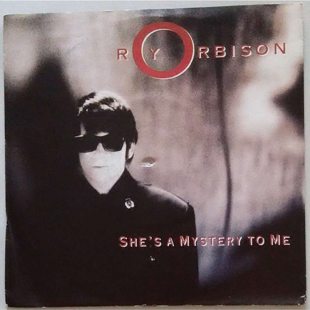 she s a mystery to me import 45 picture sleeve roy orbison