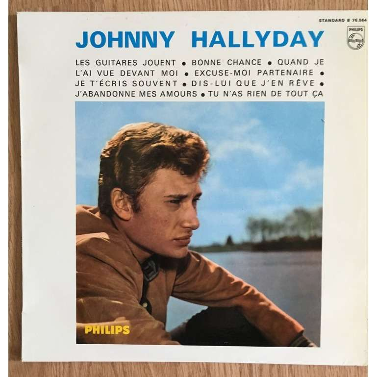 Johnny Hallyday Les Guitares Jouent N°6