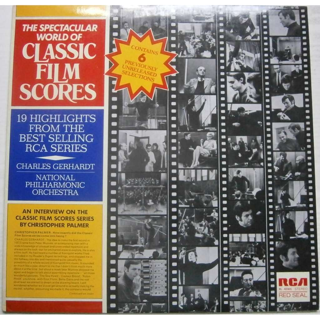 charles gerhardt / national philharmonic orchestra the spectacular world of  classic film scores