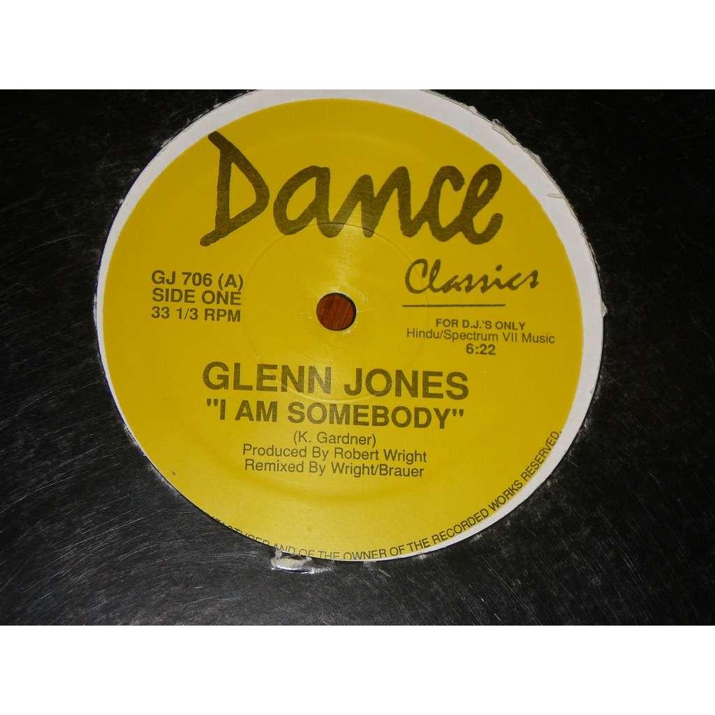 Glenn jones / atlantis i am somebody / keep on movin'&groovin