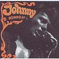 hallyday johnny olympia 67 (rare pochette avec le dos blanc )