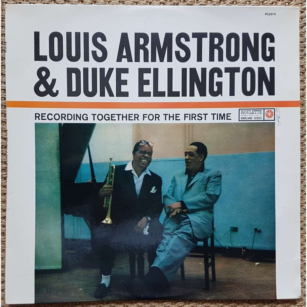 LOUIS ARMSTRONG & DUKE ELLINGTON louis armstrong and duke ellington