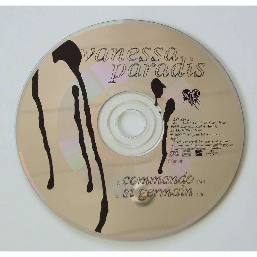 Commando by Vanessa Paradis, CDS with dom88