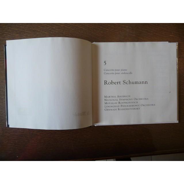Martha Argerich,Rostropovich, Rozhdestvensky Schuman concerto pour piano concerto pour violoncelle