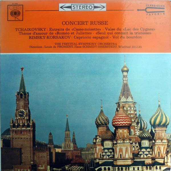 Louis de Froment, Hans Schmidt-Isserstedt Concert Russe