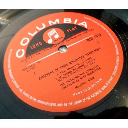 OTTO KLEMPERER STRAVINSKY Symphony in three movements - Pulcinella