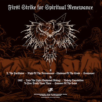 DEAD TO THIS WORLD First Strike for Spiritual Renewance
