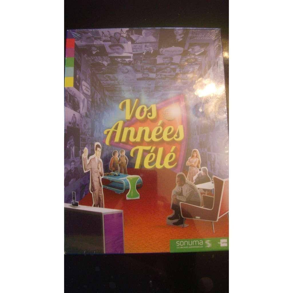 divers artistes - various artist VOS ANNEES TELE -COFFRET 2 DVD