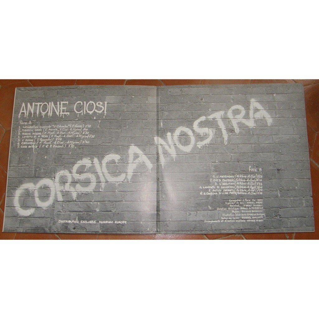 ANTOINE CIOSI CORSICA NOSTRA
