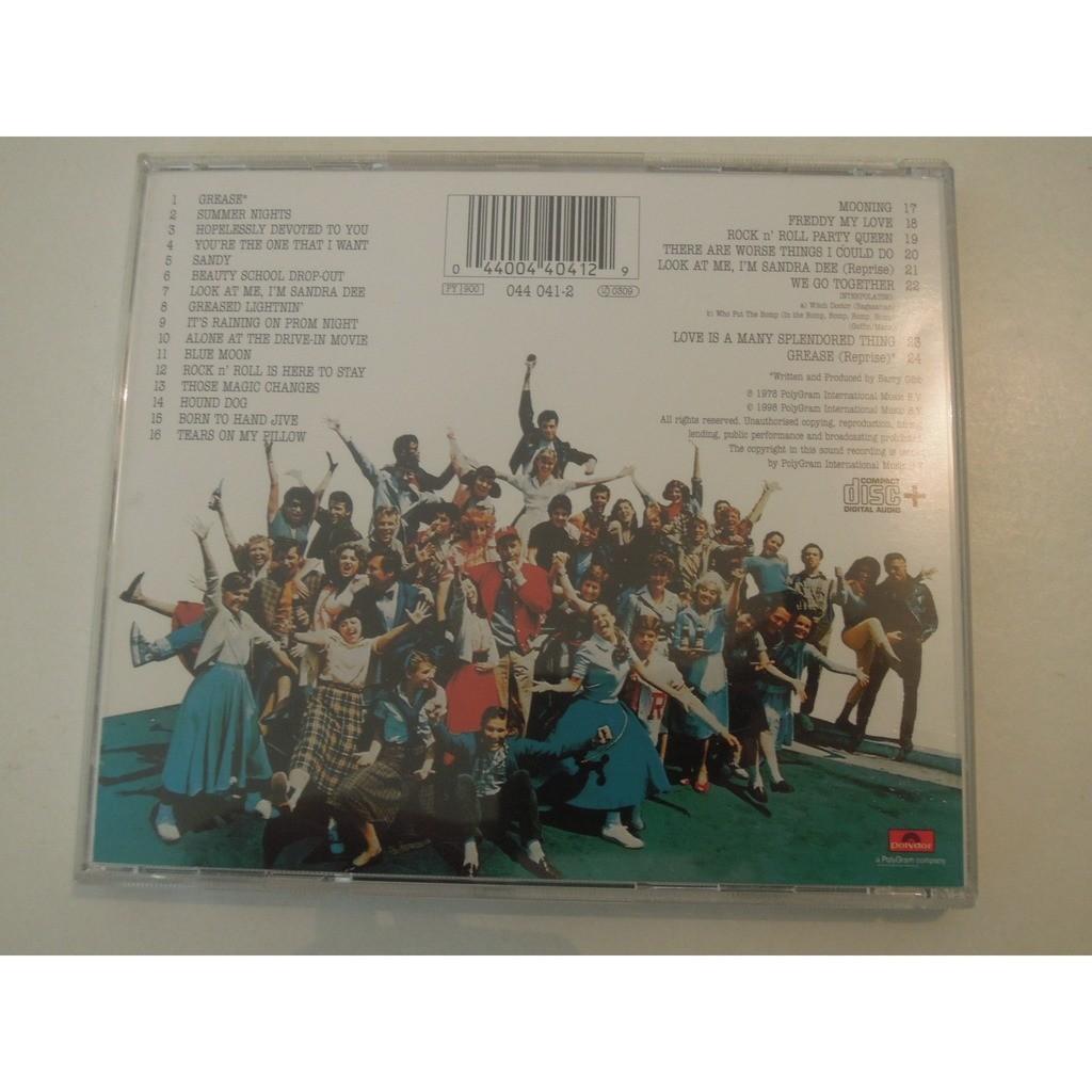 grease original soundtrack cd