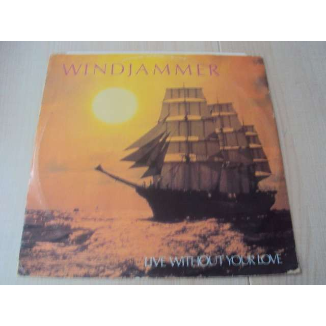Windjammer Live Without Your Love / Call me up 1984 UK (MAXIBOXLP)