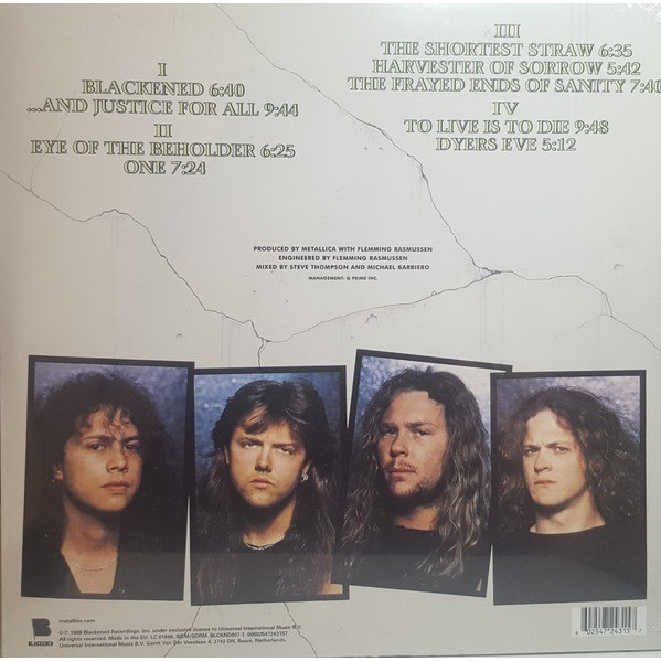 Metallica ...And Justice For All (2xlp)