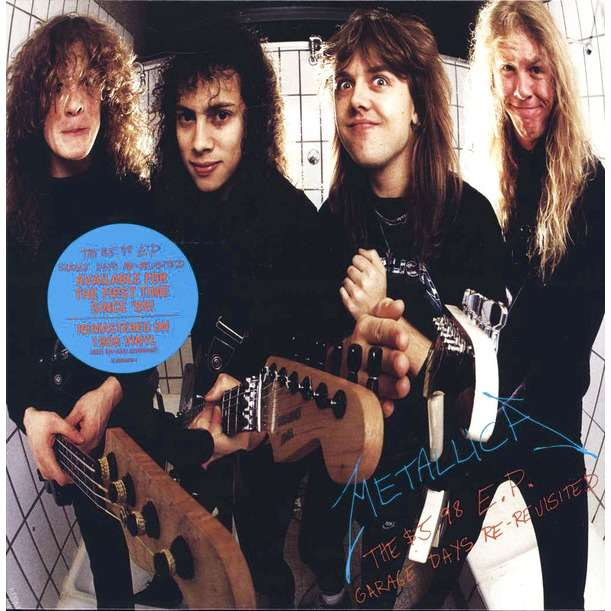 Metallica ‎ The $5.98 E.P. - Garage Days Re-Revisited (lp)