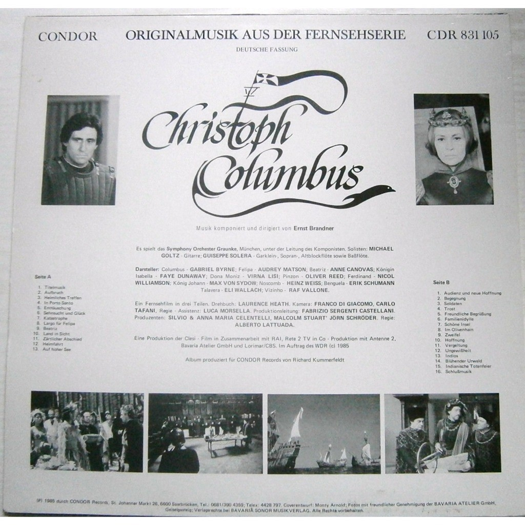 ernst brandner christoph columbus