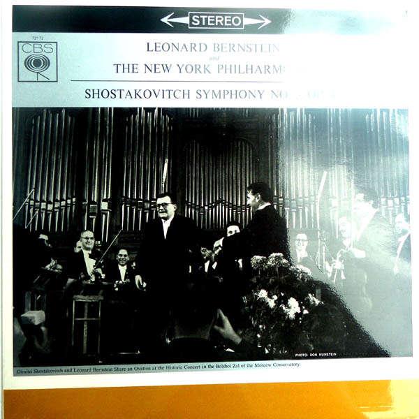 leonard bernstein Shostakovitch : Symphonie n°5