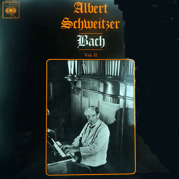 albert schweitzer Bach - Volume 2
