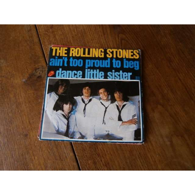 the rolling stones Ain't too proud to beg
