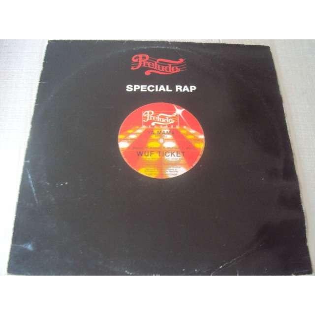 WUF TICKET Ya mama (VOCAL 7'52) 1982 FRANCE (MAXIBOXLP)