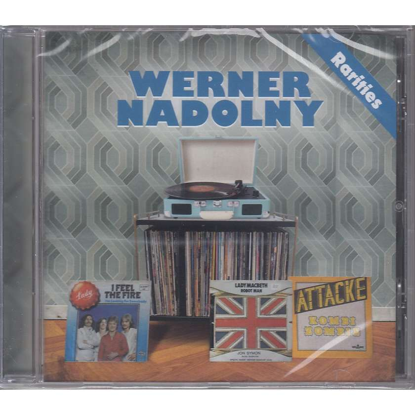 Werner Nadolny Jane Lady Jon Symon Scorpions Rarities