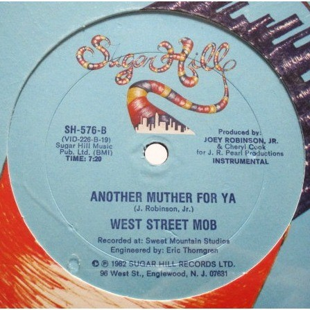 West Street Mob Sing A Simple Song / Another Muther For Ya