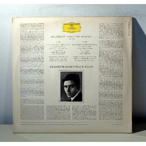 CRISTOPH ESCHENBACH MOZART Klaviersonaten - Andante - Variationen