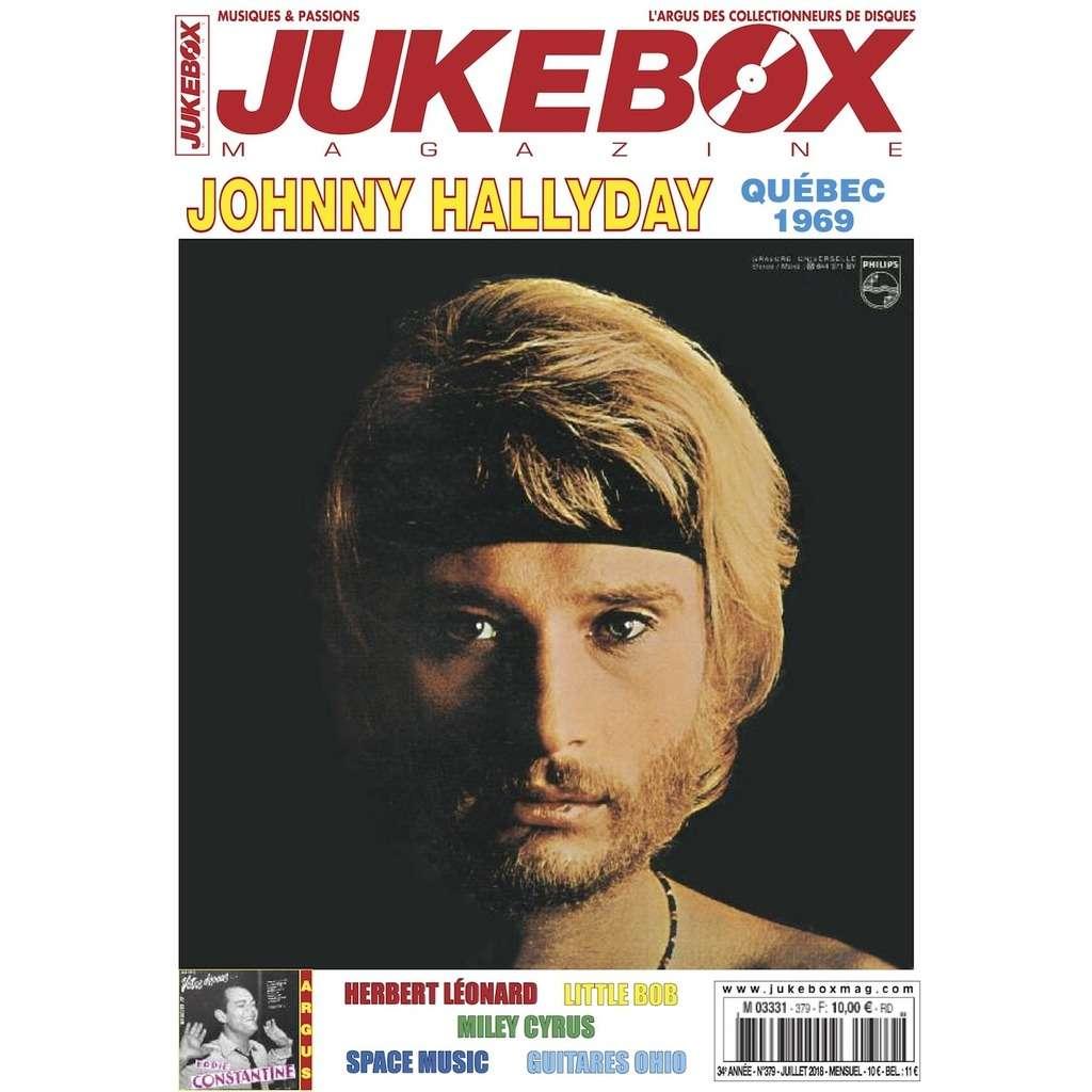 N°379 (JUILLET 2018) JOHNNY HALLYDAY MAGAZINE - JUKEBOXMAG.COM