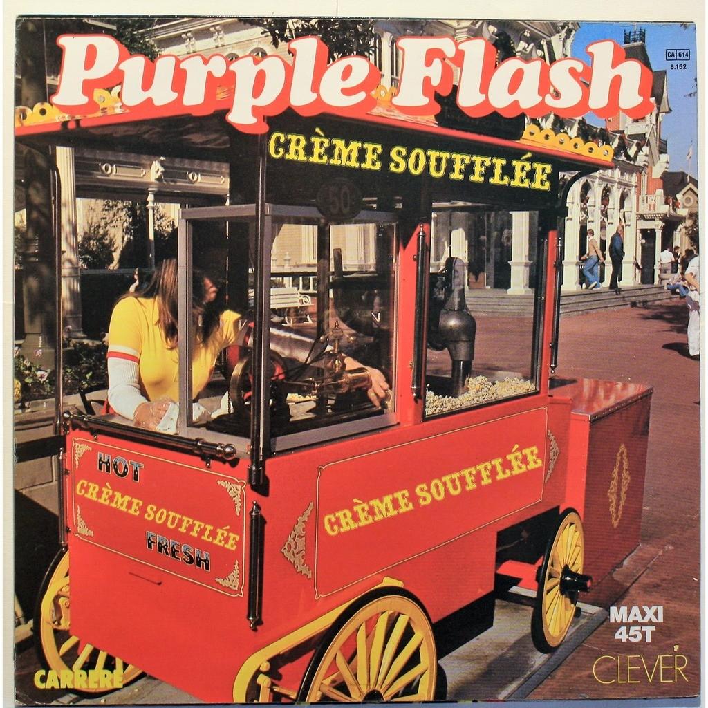 Purple flash Creme soufflee