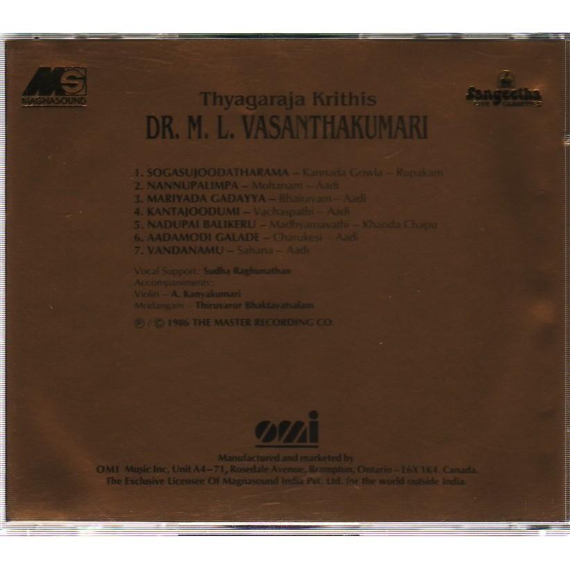 DR.M.L.VASANTHAKUMARI THYAGARAJA HRITHIS