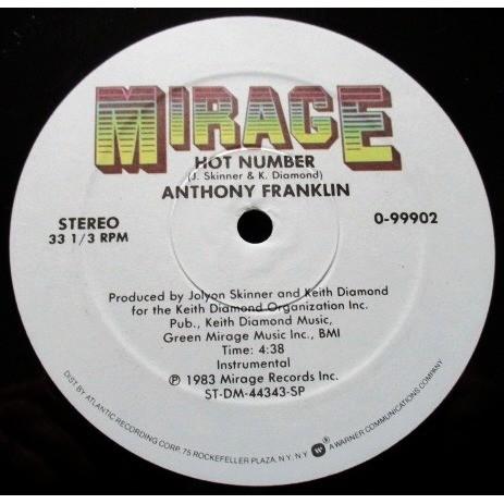 anthony franklin Hot Number