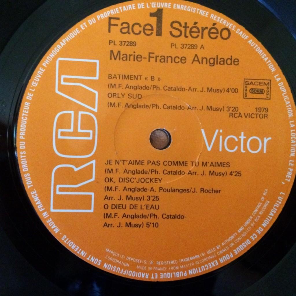 MARIE FRANCE ANGLADE Same