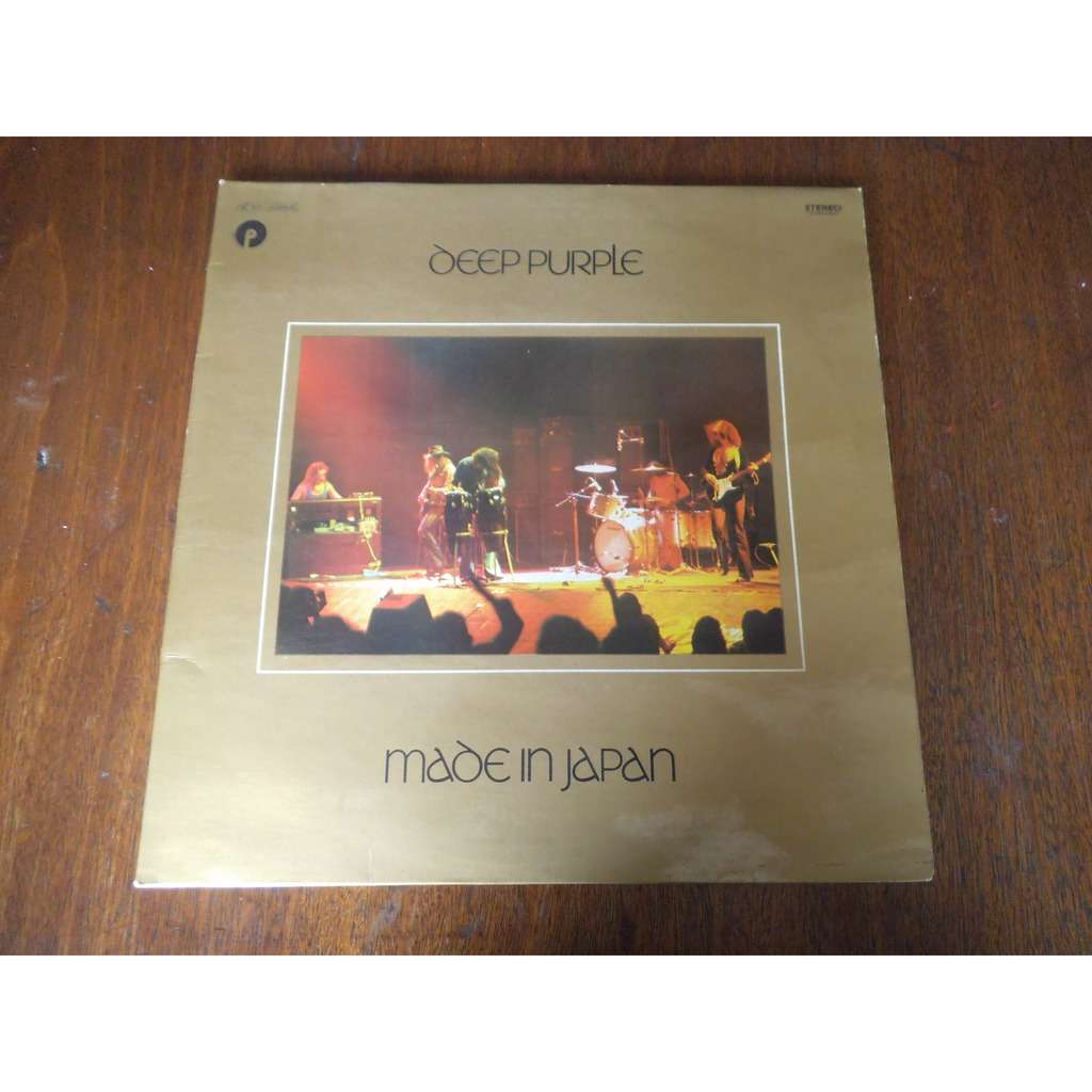 deep purple double LP / made in japan