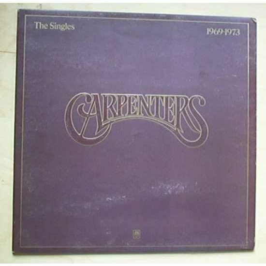 Carpenters singles 1969-1973