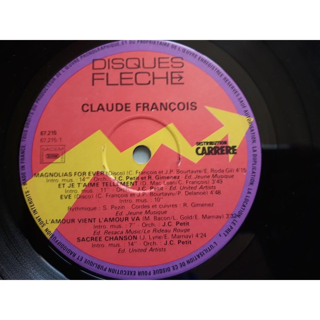 Claude François - Magnolias For Ever (LP, Album) Claude François - Magnolias For Ever (LP, Album)