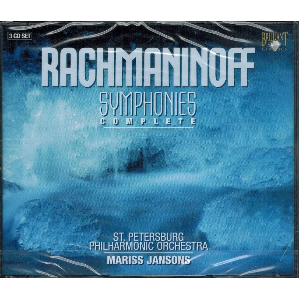 Rachmaninov, Sergei Symphonies & Orchestral Works / St. Petersburg Philharmonic Orchestra, Mariss Jansons