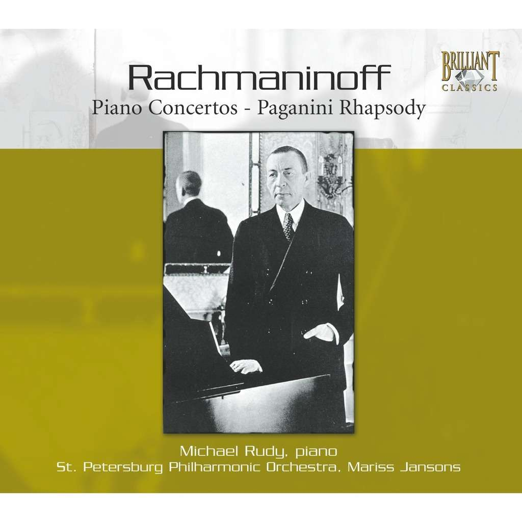 Rachmaninov, Sergei Complete Piano Concertos: Etc / Mikhail Rudy, St. Petersburg Philharmonic Orchestra, Mariss Jansons