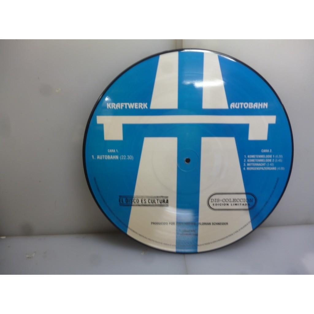Kraftwerk Autobahn (Picture Vinyl LP). 80's Mexican Picture Vinyl LP.