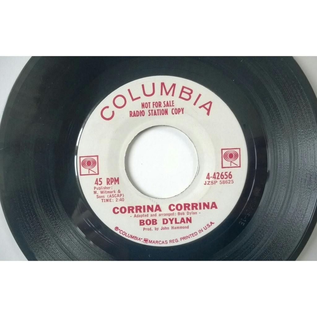 bob dylan corrina corrina / mixed up confusion