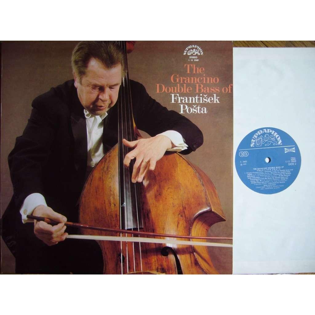 FRANTISEK POSTA The Grancino Double Bass of Frantisek Posta SUPRAPHON 1 11 1949 MINT