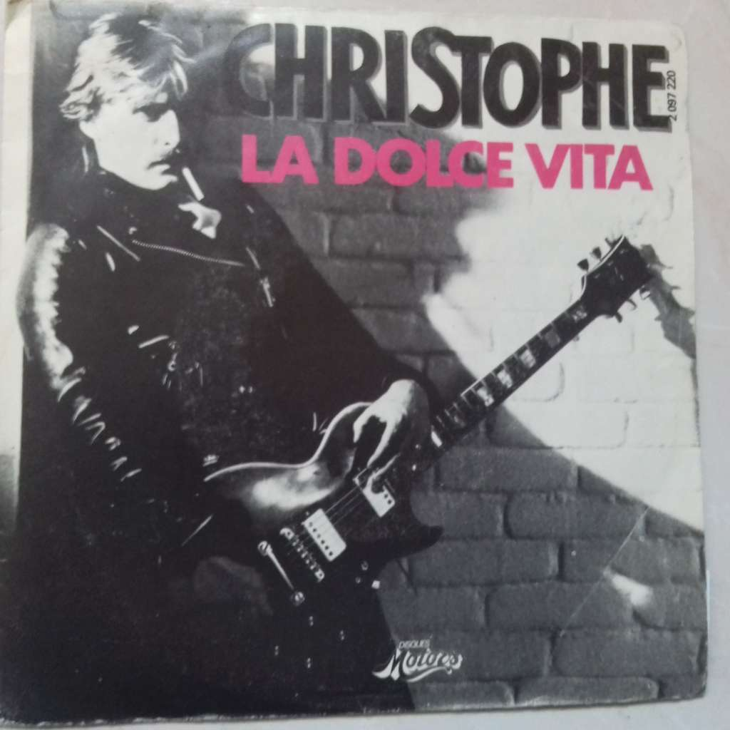 christophe la dolce vita