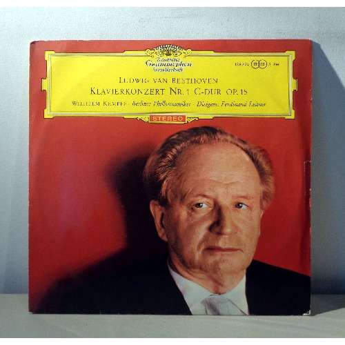 WILHELM KEMPFF & FERDINAND LEITNER BEETHOVEN Piano concerto n°1, opus 15