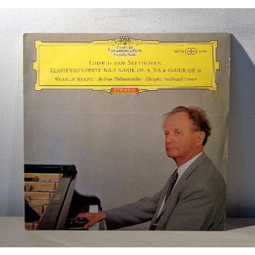 WILHELM KEMPFF & FERDIAND LEITNER BEETHOVEN Piano concerto n°2, op.19