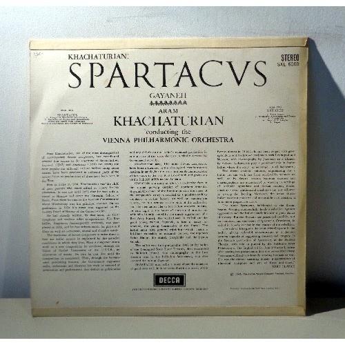 ARAM KHATCHATURIAN KHATCHATURIAN Spartacus - Gayaneh