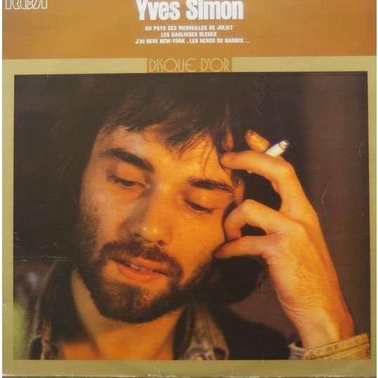 YVES SIMON DISQUE D'OR - edition canada